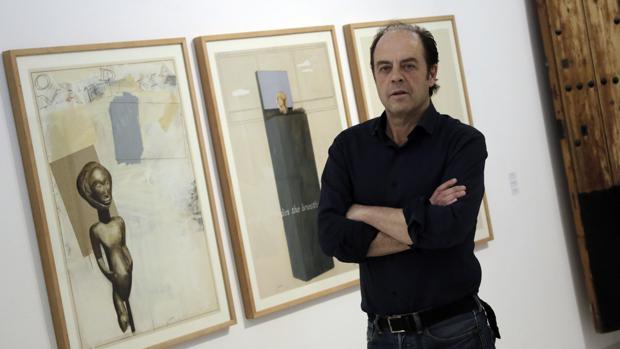 El pintor Ricardo Cadenas