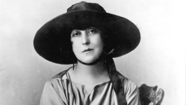 Concha Espina, en una imagen de 1920