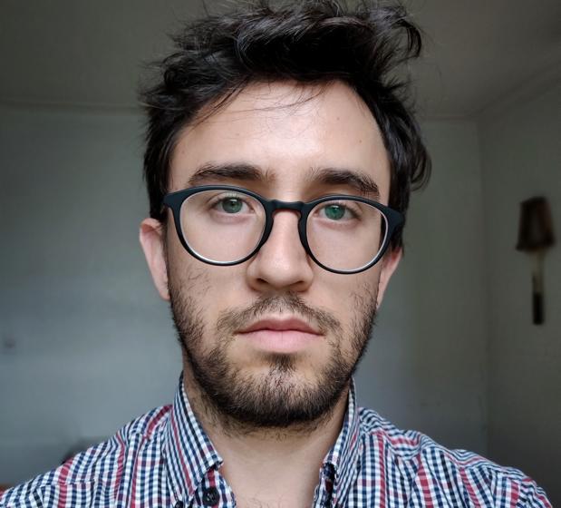 El escritor mexicano Daniel Saldaña París