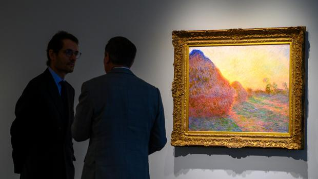 La obra «Meules», subastada por 110 millones