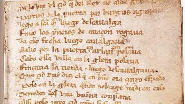 El Cantar de Mío Cid, logotipo de lo español