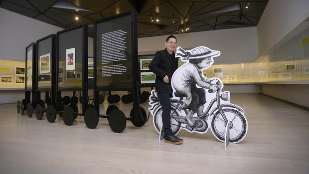 Jimmy Liao despliega su arcoíris de emociones en el Museo ABC