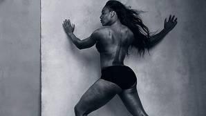 La Serena Williams más hercúlea se luce en el Calendario Pirelli