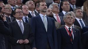 La Fiscalía ve delito por injurias al Rey en la pitada al himno