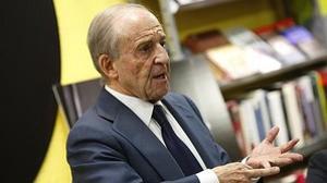 García habló con su estilo inimitable en la presentación de su biografía no autorizada
