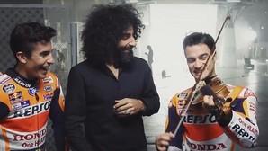 Pedrosa y Márquez se pasan al violín