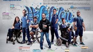 El Langui da voz y ritmo a los paralímpicos