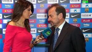 Ángel Torres hace las paces con el Barcelona
