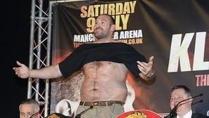 Tyson Fury: «Eres basura si no arreas a un gordo bocazas como yo»