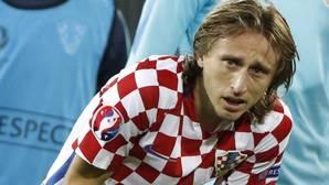 El desconsolado llanto de Luka Modric