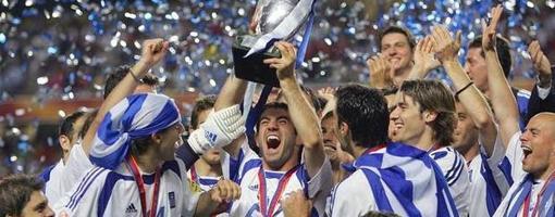 Grecia, campeona contra pronóstico en la Euro de 2004