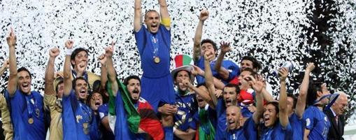 Italia se proclamó tetracampeona del mundo en Alemania 2006
