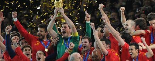 España confirmó su dominio en el Mundial de Sudáfrica 2010