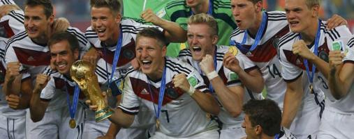 Alemania, siempre entre las favoritas, logró su cuarto Mundial en Brasil 2014