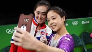 El «selfie» olímpico que ha dado la vuelta al mundo