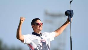 Justin Rose, campeón olímpico de golf
