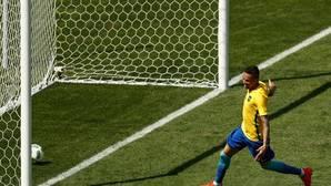Neymar anota el gol más rápido de la historia de los Juegos