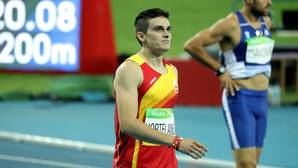 Bruno Hortelano: «Me voy con el sueño olímpico cumplido»