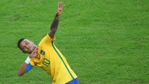Así fue el golazo de falta de Neymar en la final ante Alemania