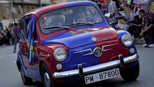 Seat 600 del Barcelona