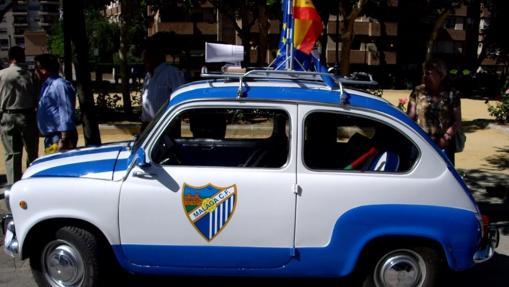 El Seat 600 del Málaga