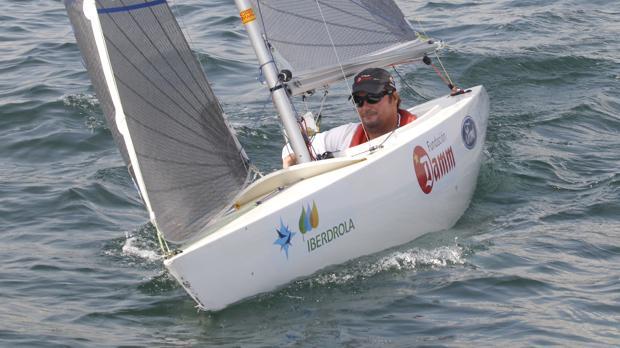 Arturo M0ntes durante una regata