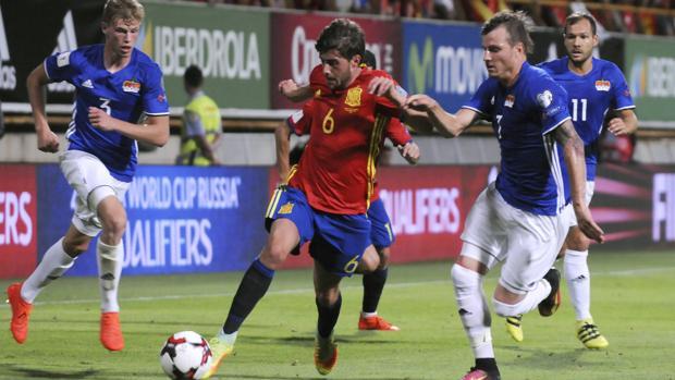 España-Liechtenstein:  Lopetegui sostiene el ritmo alegre de España