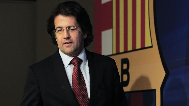 Toni Freixa, en su etapa como directivo del Barcelona