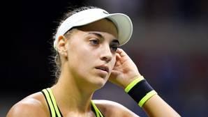 El susto que se llevó Ana Konjuh, la sorpresa del torneo