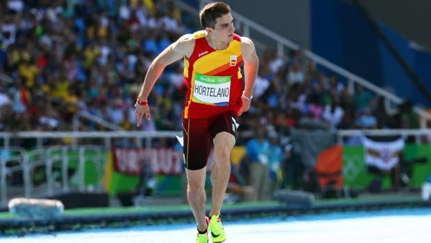 Hortelano, durante su concurso en los Juegos Olímpicos de Río 2016