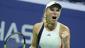 Wozniacki renace en Nueva York