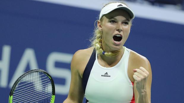 US Open:  Wozniacki renace en Nueva York
