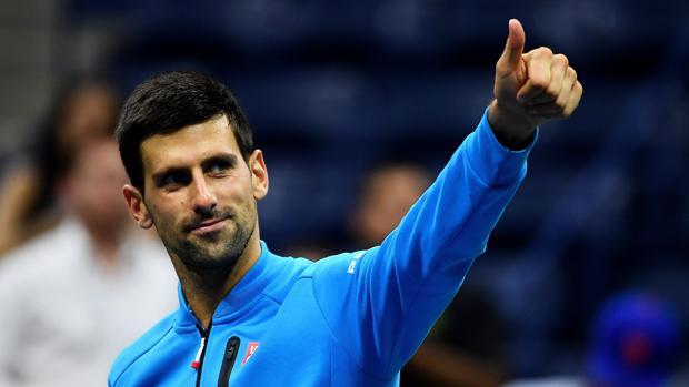 Novak Djokovic, tras su clasificación para semifinales