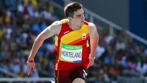 Bruno Hortelano y la importancia de las manos en el atletismo de élite