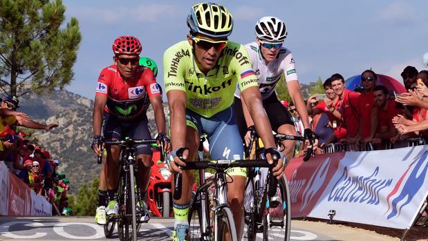 Ciclismo | Vuelta a España:  Chris Froome no puede