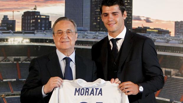 Álvaro Morata, último fichaje del Real Madrid