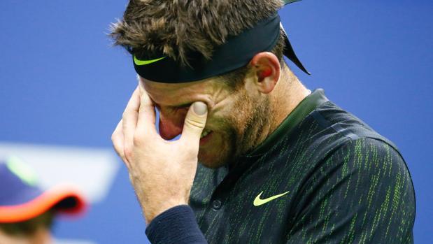 Del Potro no pudo contener las lágrimas