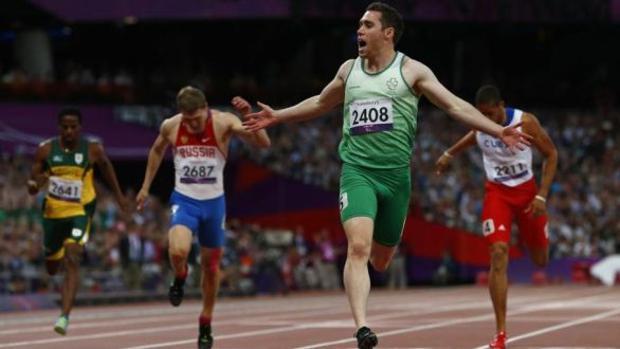 Jason Smyth, en los Juegos de Londres