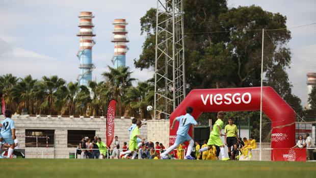 La IV Copa Viesgo de San Roque congregará a 300 niños este fin de semana