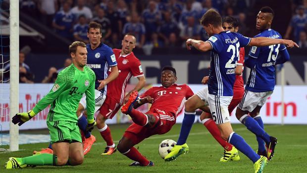 Schalke 04-Bayern Múnich en directo