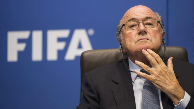 Blatter, durante su etapa al frente de la FIFA