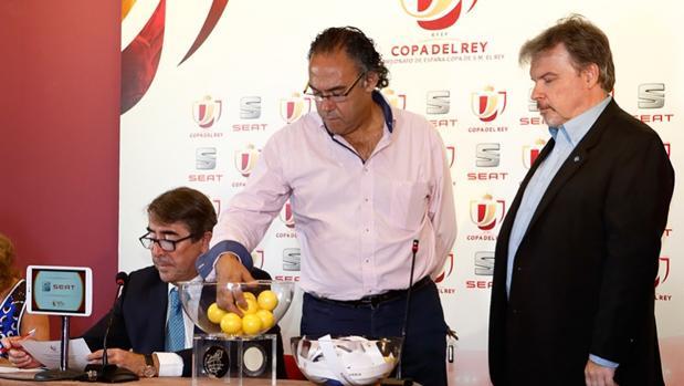Sorteo de la tercera ronda de la Copa del Rey celebrado este viernes