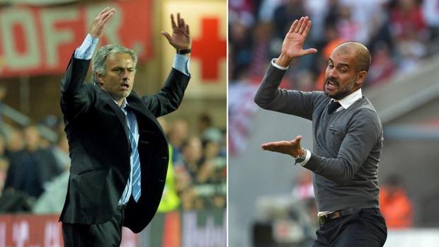Mourinho y Guardiola se enfrentan mañana por primera vez en Inglaterra