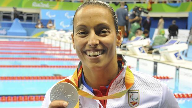 Teresa Perales ha conseguido la medalla de plata