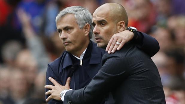 Mourinho y Guardiola