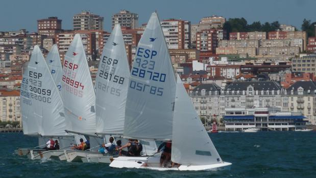 La fiesta de vela de Santander se consolida como una de las pruebas por excelencia