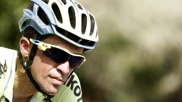 Vuelta a España:  Contador: «Respecto a mi futuro, quizás haya sorpresas»