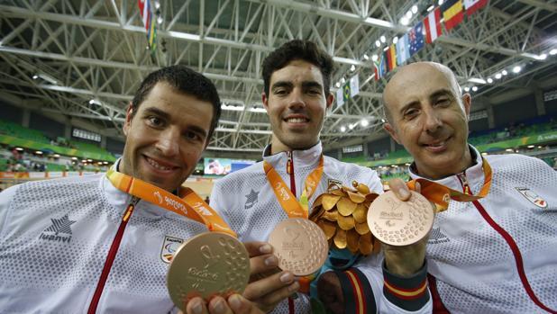 Paralímpicos Río 2016:  El equipo de velocidad gana el bronce