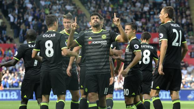 La chilena de Costa que salvó al Chelsea