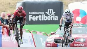 Chris Froome se enfadó mucho con Nairo Quintana en Aitana